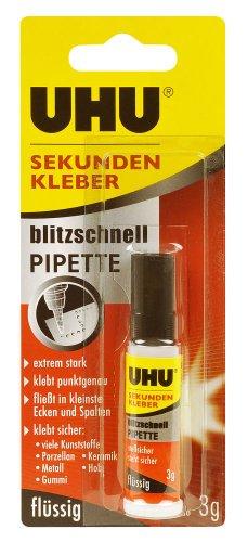 uhu-1645570-uhu-sekundenkleberflussig-3g-tube-mit-pipette