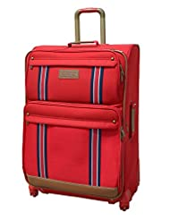 Tommy Hilfiger Berkeley Polyester Red Luggage Set Medium (TH/BRK04065)