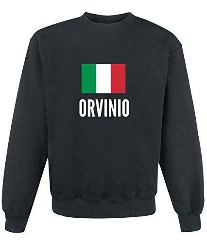 Felpa Orvinio city Black