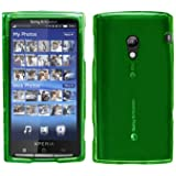 Cbus Wireless Crystal Green Snap On Hard Case / Skin / Cover for Sony Ericsson Xperia X10