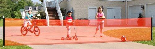 kidkusion-non-retractable-driveway-safety-net-orange