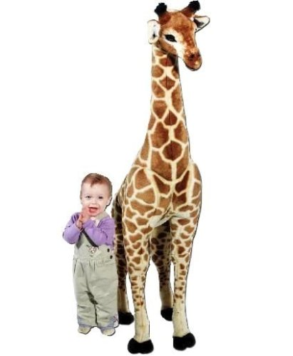 Large Giraffe Plush, by Melissa & Doug