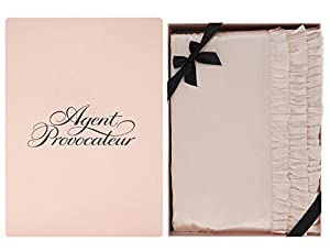 AGENT PROVOCATEUR Super King Oyster Pink Duvet Cover