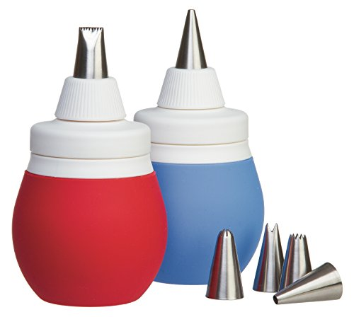 Prepworks from Progressive International BWC-70 8-Piece Frosting Bulb Decorating Kit