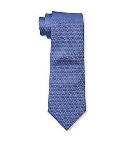 Valentino Men's Patterned Tie, Blue, One Size