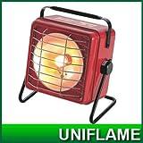 UNIFLAME(ユニフレーム) ハンディガスヒーター ワームII レッド