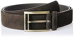 Parx Men's Leather Belt (8907114595083_105_Fancy Brown)
