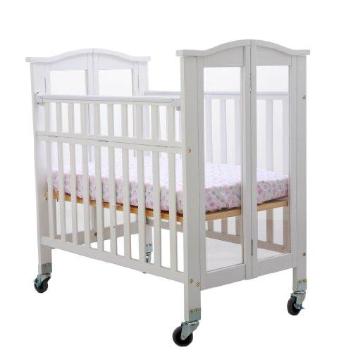 Dream On Me Affinity Mini Ultra Convenience Crib, White