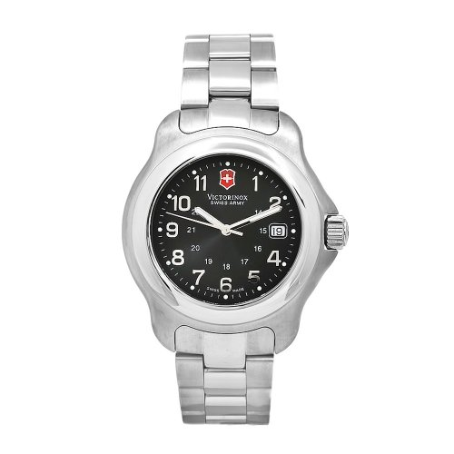 Victorinox Swiss Army Men'S 24706 Officer 1884 Stainless-Steel Diving Watch