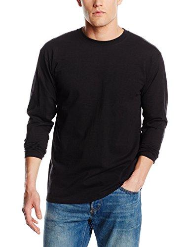 fruit-of-the-loom-ss013m-t-shirt-homme-noir-noir-grand