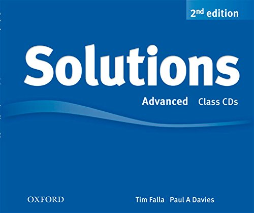 Solutions Advanced: Class CD 2nd Edition (3) (Solutions Second Edition)
