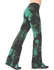 Margarita Activewear Amazon Batik Tie Dye Patterned Long Pants
