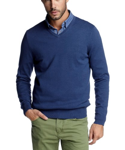 Esprit Mens Collection 092EO2I015 Men's Jumper Blue XX-Large