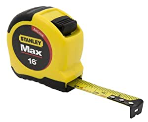 Stanley 33-692 Max  16-Foot Tape Measure with AirLock