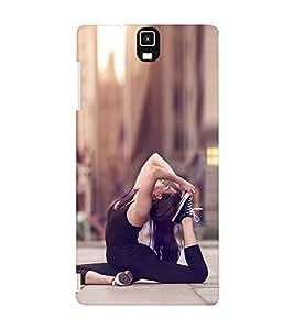 EPICCASE Fit and Fine Mobile Back Case Cover For Infocus M330 (Designer Case)