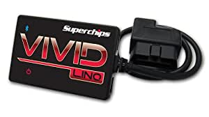 Superchips 518550 Vivid Performance Tuner for Ford Powerstroke F250, F350, F450 Diesel 6.0L, 6.4L and 7.3L