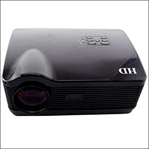 HD LED 3D Projector 16:9&4:3 Video 3D Projector 3000 lumens 3*HDMI USB SD Support 1280*1024 and 1366*768,1080P,1080I,720P