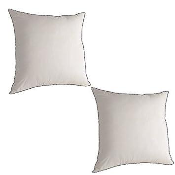 Rose fuchsia taies d/'oreiller taie d/'oreiller paire lot de 2 poly coton 150 fils au pouce