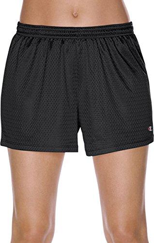 Champion Women's Mesh Shorts, Black, S