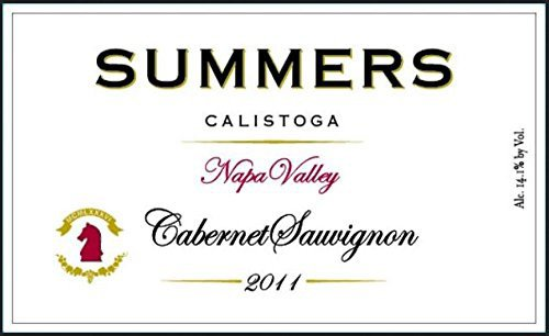 2011 Summers Calistoga Napa Valley Cabernet Sauvignon 750 Ml