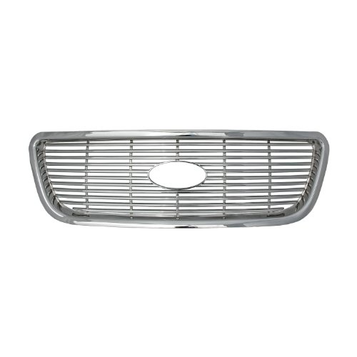 Bully  GI-08 Triple Chrome Plated ABS Snap-in Imposter Grille Overlay, 1 Piece