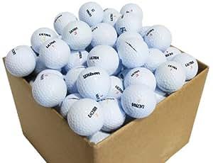 Second Chance Wilson Ultra 100 Balles de golf de récupération Qualité supérieure Grade A