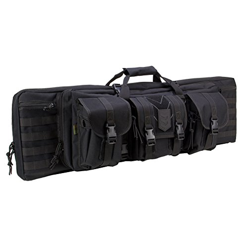 Cheapest Price! Ranger 36 Double Rifle Case - 36 Padded Long Gun Case & Rifle Storage Backpack With...