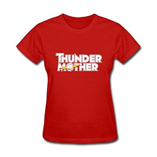 HF-welling Women's Thundermother Logo Short Sleeve T-Shirt
