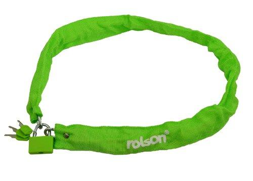 Rolson 66730 Chain with Brass Padlock