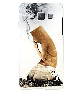 ColourCraft No Smoking Design Back Case Cover for SAMSUNG GALAXY E5