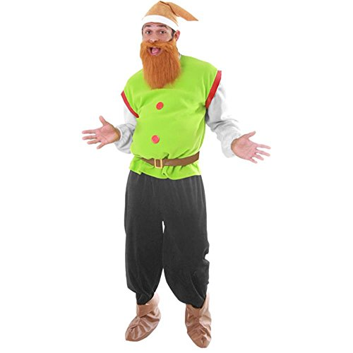 Men's Dwarf Adult Halloween Costume Standard Size