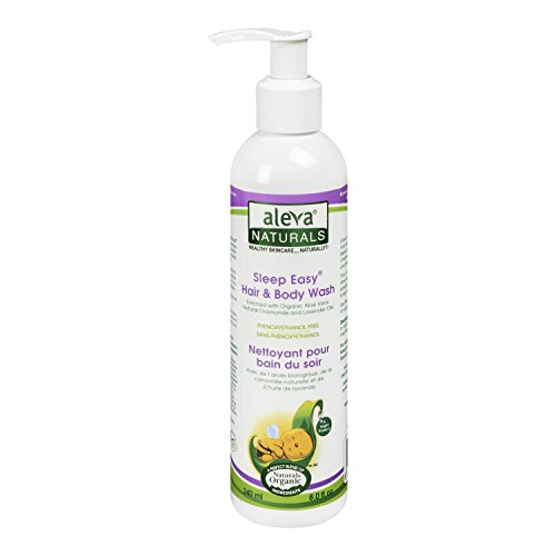 Aleva Naturals Sleep Easy Hair & Body Wash - 8.0 oz