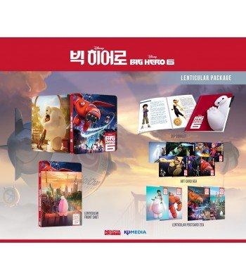 BIG HERO 6 (3D/2D Blu-ray Steelbook; NovaMedia Exclusive LENTICULAR; Only 600 Worldwide)
