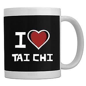 Amazon.com | Teeburon I love Tai Chi Mug: Coffee Cups & Mugs