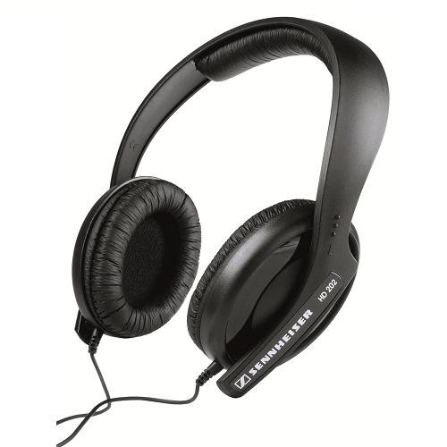 Sennheiser HD 202 MK II Professional Headphones (Black)