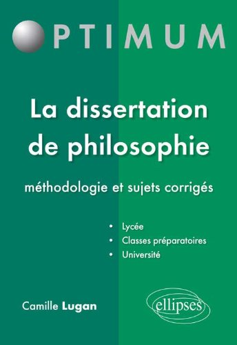 Corriges dissertation philo