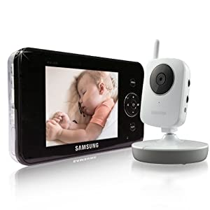 "Samsung Wireless Video Security Monitoring System w/ 3.5"" LCD"