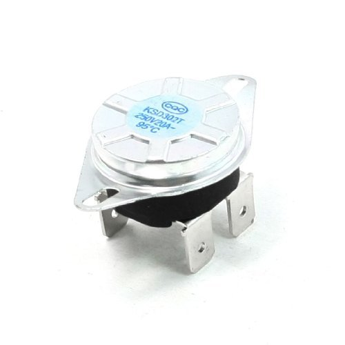 Water & Wood N/C 4 Pin Terminals 95C Temperature Control Switch Thermostat AC 250V 20 Amp