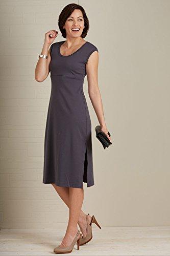 Fair Indigo Organic Fair Trade Empire Waist Dress