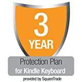 3-Year SquareTrade Warranty + Accident Protection for Kindle Keyboard (Free 3G + Wi-Fi)