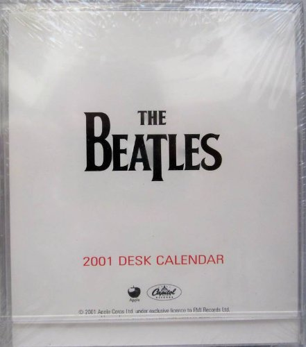 The Beatles Mental Block 2001 Calendar and Desk Toy