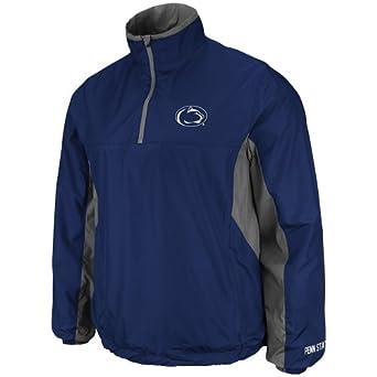 NCAA Men's Penn State Nittany Lions Gunner 1/4 Zip Jacket (Navy, Small)