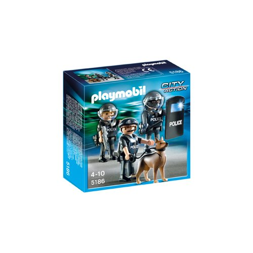 PLAYMOBIL Police Special Forces Unit - 1