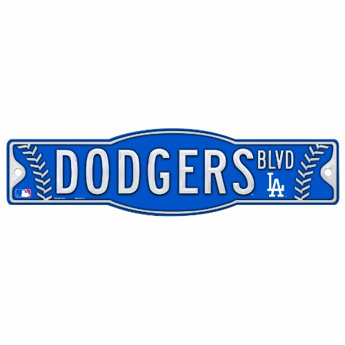 Mlb Los Angeles Dodgers 4.5-By-17 Sign