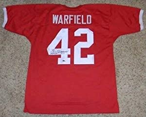 Signed Paul Warfield Jersey - Osu Ohio State Buckeyes #42 Throwback - Autographed NFL... by Sports+Memorabilia