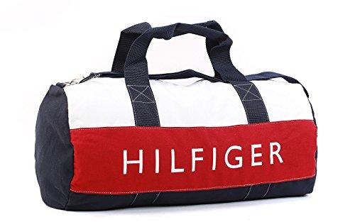 Tommy-Hilfiger-Tasche-Sporttasche-Reisetasche-Fitness-Duffle-Bag