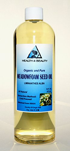 Meadowfoam Seed Oil Organic Carrier Expeller Pressed 100% Pure 16 oz