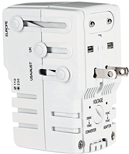 Conair - Power Adapter/Converter With Surge Protection *** Product Description: Conair - Power Adapter/Converter With Surge Protection Adapter/Converter Combination With Surge Protection 2 Modes--Adapter Only Or Adapter/Converter Combo For Use Wi ***