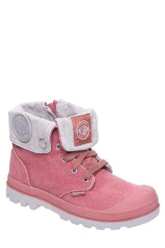 Kid's Baggy Zipper Combat Boot