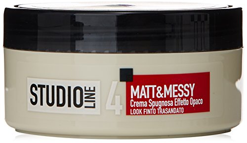 L'Oréal Paris Studio Line Matt&Messy Crema Spugnosa, 150 ml